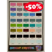 Aikka BRIGHT CRYSTAL COLOUR CARD
