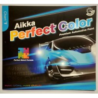 Aikka CHART1 AUTOMOTIVE PAINT COLOUR CARD