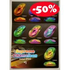 Aikka SUPREME CHAMELEON COLOUR CARD Aikka The Paints Master  - More Colors, More Choices