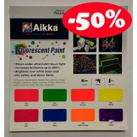 Aikka FLUORESCENT PAINT COLOUR CARD