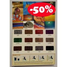 Aikka GLITER FLAKE COLOUR CARD Aikka The Paints Master  - More Colors, More Choices