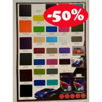 Aikka SOFT MATT CLEARCOAT COLOUR CARD