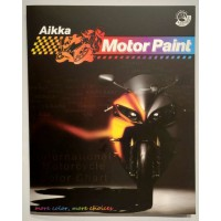 Aikka MOTORCYCLE & SPORT RIM PAINT COLOUR CARD