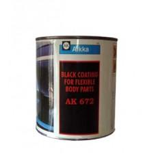 AK 672 PLASTIC BLACK MATT