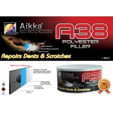 A38 ALUMINIUM PUTTY  Aikka The Paints Master  - More Colors, More Choices