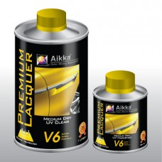 Aikka V6 Medium Dry UV Clearcoat 4:1   New Improved Formula 2014