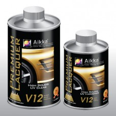 Aikka V12 High Solids UV Clearcoat 2:1   New Improved Formula 2014