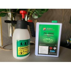 1+1 Heavy Duty Chemical & Solvent Resistant Hand Pump up Pressure Sprayer with Viton Seals