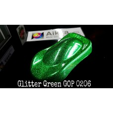 Dsyas Glitter Flake Green GOP 0206    330ml