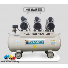 JUBA Mute Oil-free Air compressor 800w x 3 80L  (3HP)