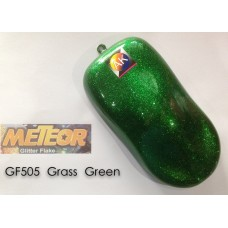 Meteor Glitter Flake  GF505 Grass Green 250ml