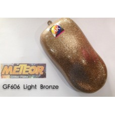 Meteor Glitter Flake  GF606 Light Bronze 250ml