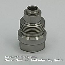 Aikka 27i Spray Gun Spareparts - No.28 Needle / Fluid Adjsuting Guide Aikka The Paints Master  - More Colors, More Choices