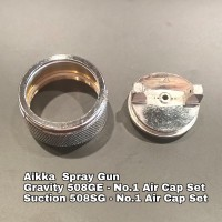 Aikka 508GE Gravity Spray Gun Spareparts - No.1 Air Cap Set