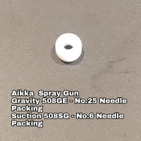 Aikka 508GE Gravity Spray Gun Spareparts - No.25 Needle Packing