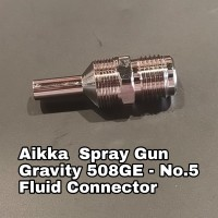 Aikka 508GE Gravity Spray Gun Spareparts - No.5 Fluid Connector