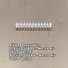 Aikka 508GE Gravity Spray Gun Spareparts - No.18 Air Valve Spring Aikka The Paints Master  - More Colors, More Choices