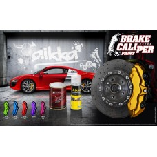 Brake Caliper 2K Paint with Haedener  -  1Liter & 250ml  Aikka The Paints Master  - More Colors, More Choices