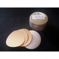 "Aikka 3"" inch Velcro Disc Gold Sand Paper - 77mm"