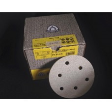 Klingspor PS 33 CK  Self-Fastening Primer/Paint/Varnish/Wood Sanding Discs - 125mm