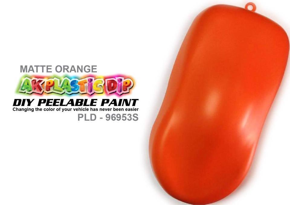 Matte Orange Spray Paint Online