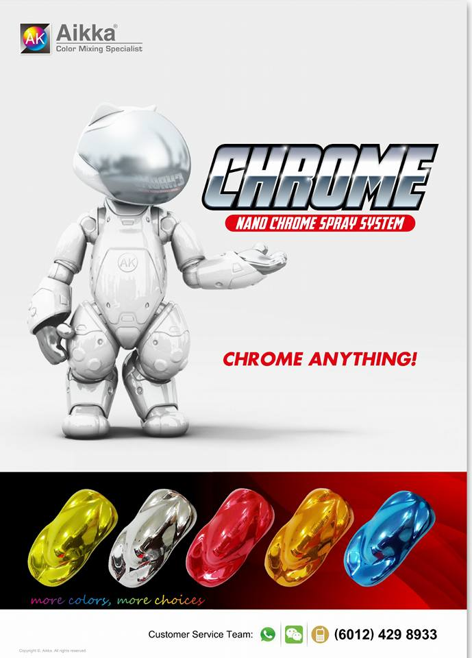 Spray On Chrome