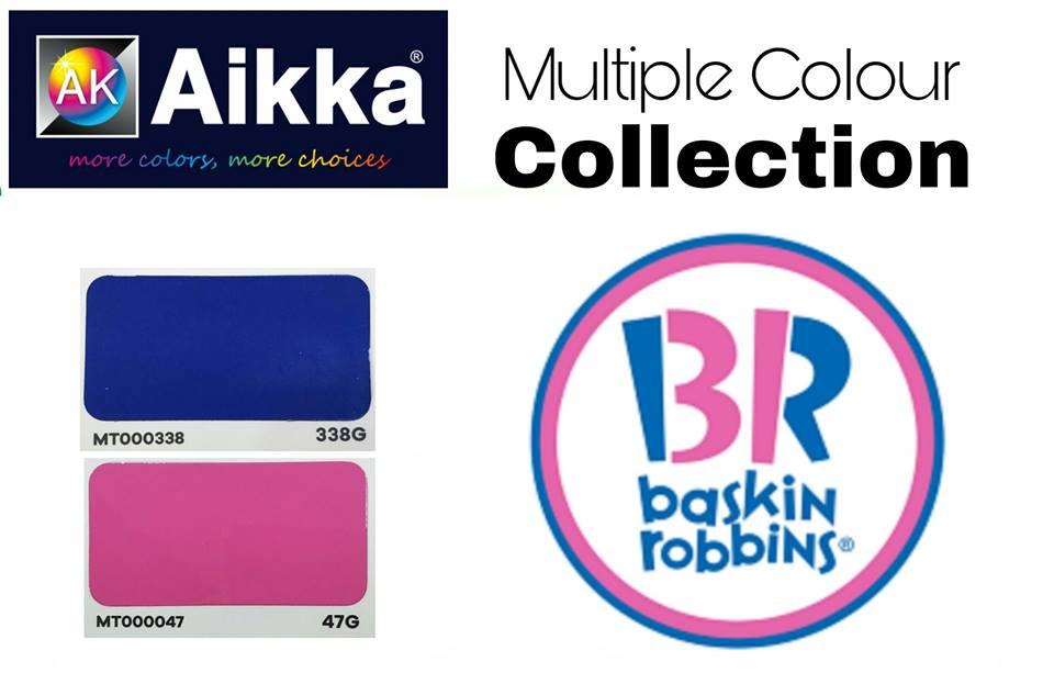 BASKIN ROBBINS Colour Code