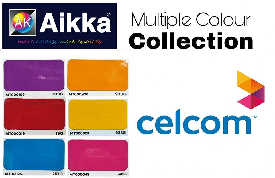 celcom colour code