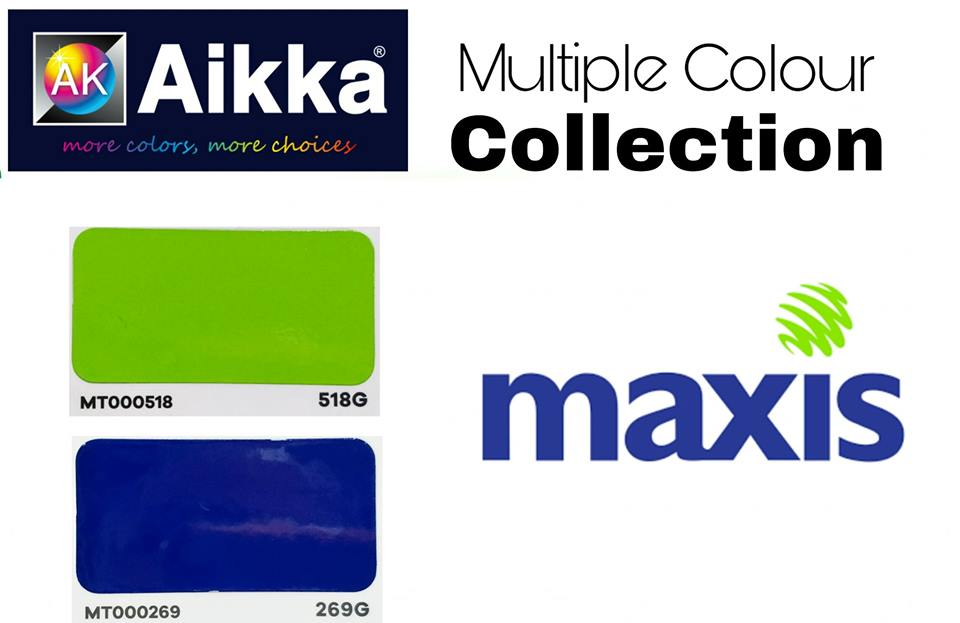 maxis colour code