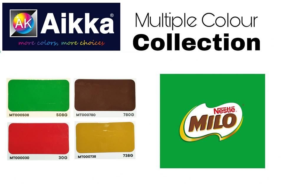 milo colour code
