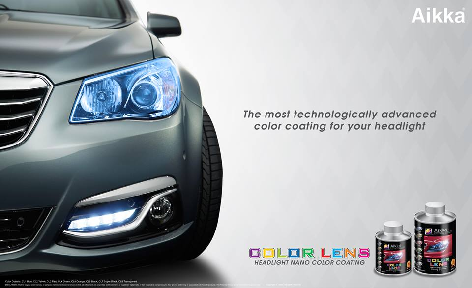 Aikka Headlight Nano Coating