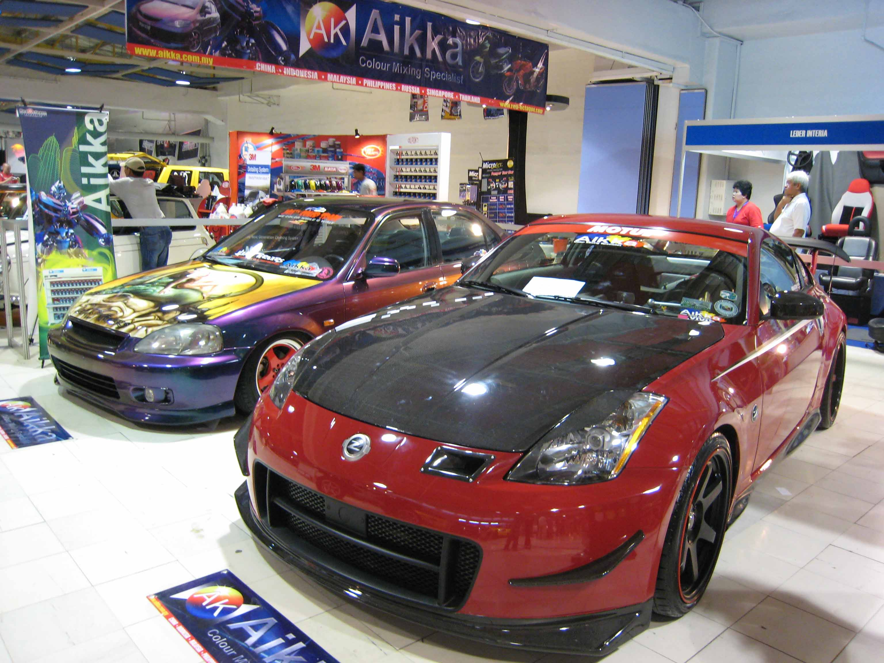 Car paint colour - Nine Cars Are Participating In The First Ever Best In Aikka Paint Competition For More Information On Aikka Paints Call 700 5700