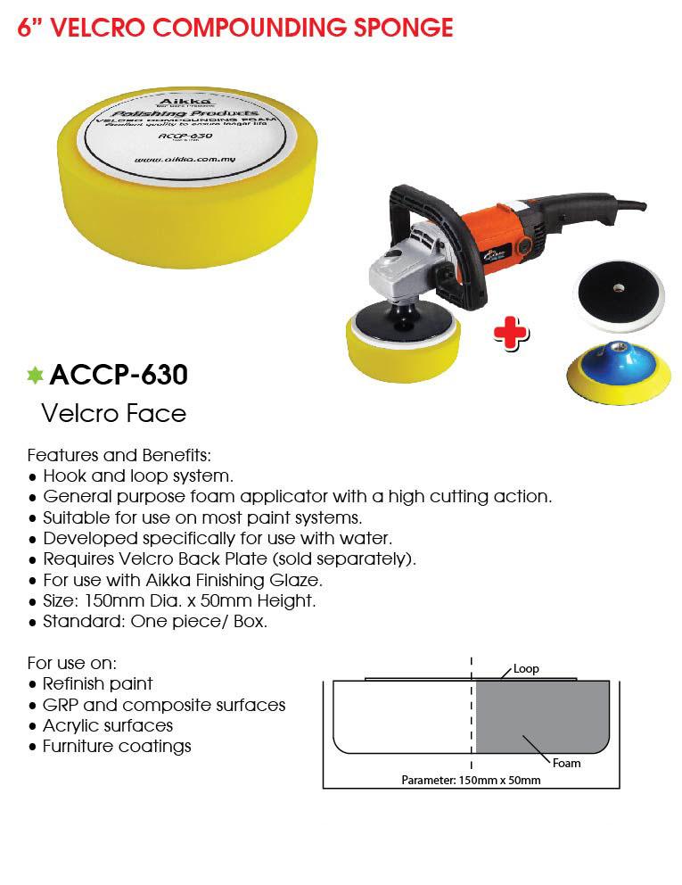 ACCP 630 Compounding Pad 150mm