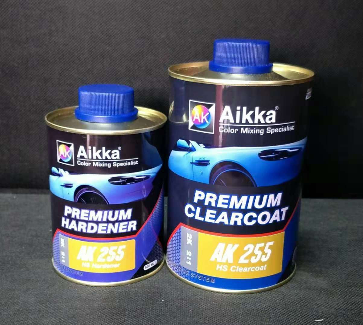 AK 255 HS CLEARCOAT