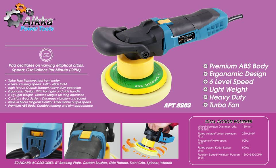 APT  8203 Dyaul Action Polisher