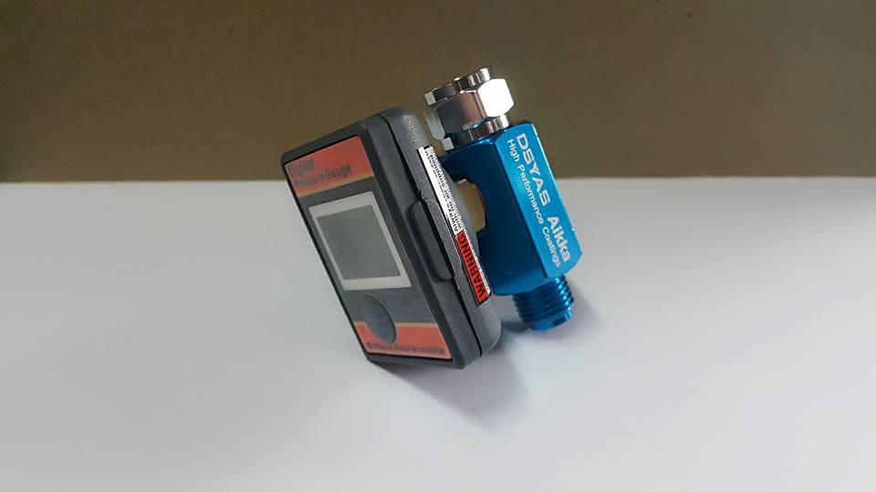 Aikka AR808 Air Adjusting Valve with Digital Pressure Gauge