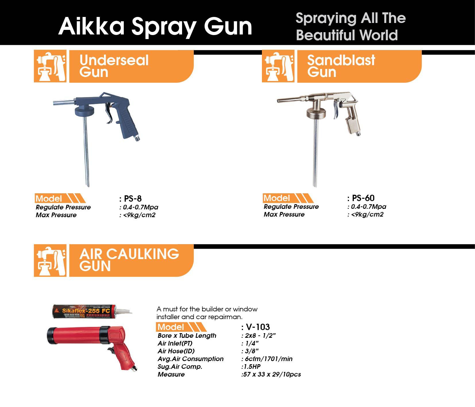 spray gun malaysia Aikka