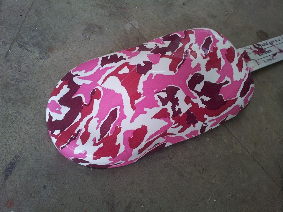 Hydrographics - Water Transfer Printing